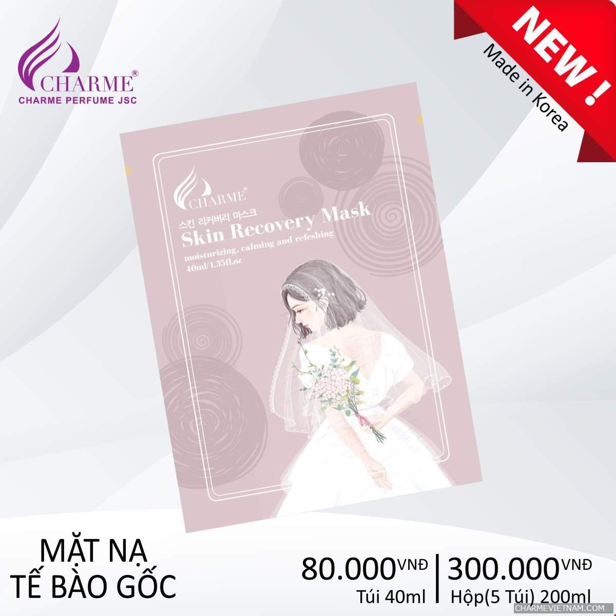 Mặt Nạ Tế Bào Gốc - Charme Skin Recovery Mask