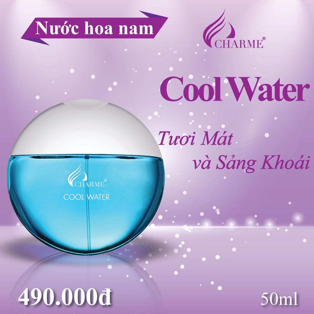 Charme Cool Water 50ml