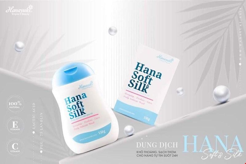 Dung Dịch Vệ Sinh Hana Soft & Silk